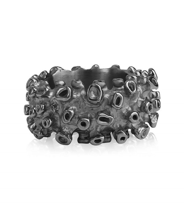 Ring Basic black CORAL
