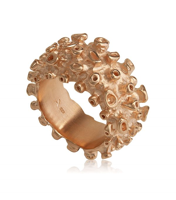 Basic Ring pink CORAL - Galerie