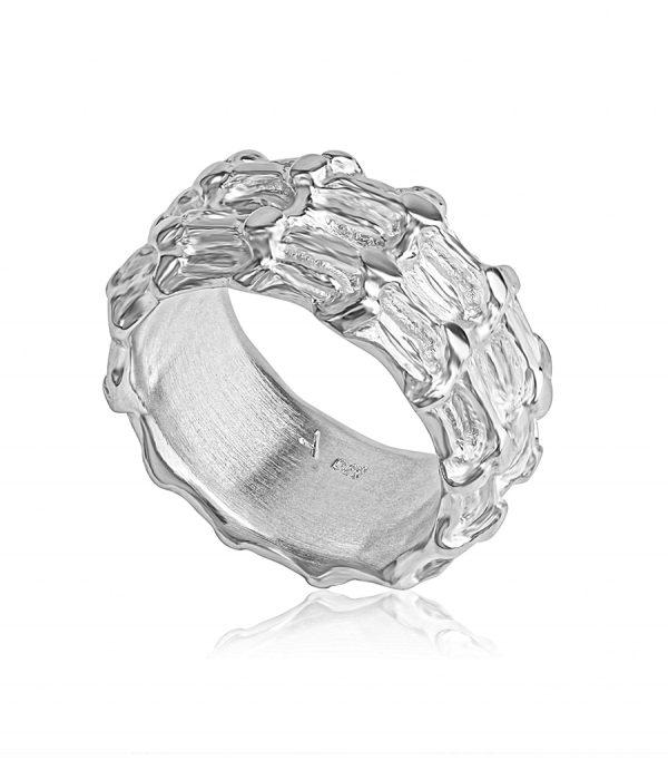 Basic Ring silver BONE - Galerie