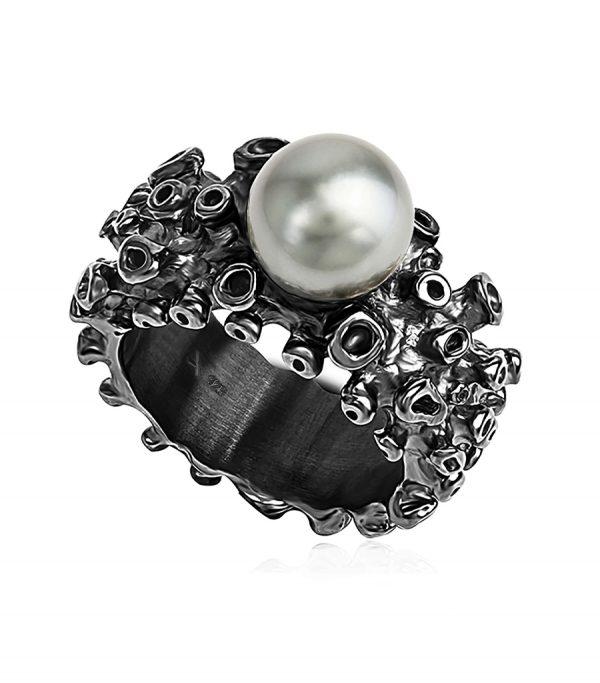 Drop Ring black CORAL - Galerie